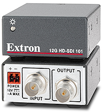 New Extron Multi-rate SDI Cable Equalizer Supports 4K Video