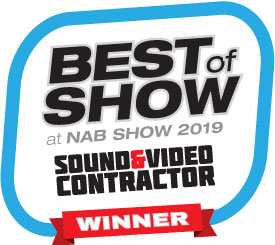 Extron Wins Two Best Product Awards from Sound & Video Contractor at NAB 2019