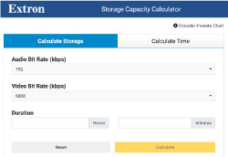 Basic Storage Capacity Calculator