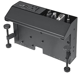 New Edge Mount Enclosure for AV Connectivity, Data, and Power Now Shipping