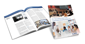 Extron Releases Updated Design Guide - AV Technology for Learning Environments