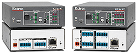 Extron Now Shipping AXI Series Dante Audio Interfaces