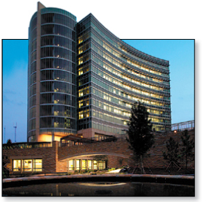 The CDC's headquarters and Emergency Operations Center
