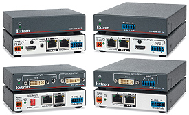New Long Distance HDMI and DVI Extenders from Extron
