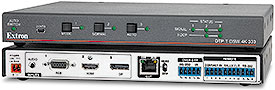 Extron Introduces DTP 4K Switchers for DisplayPort, HDMI, and VGA with Audio Embedding