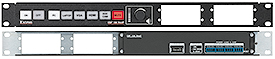 New Extron eBUS Button Panel Puts Powerful AV Control in the Rack