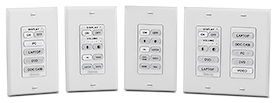 Extron Introduces 19 New eBUS Button Panels, Including Four New Decorator-Style Models