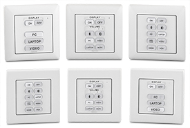 New eBUS Button Panels Provide Convenient, Worldwide AV Control