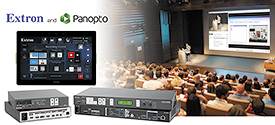 Leverage the Power of Extron Configurable Control with Panopto Video Content Management Systems