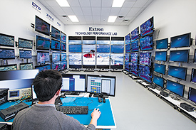 Extron Working with LG Business Solutions to Develop Certified Control Drivers for LG Displays