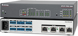 Extron Introduces Industry's First Control Processor with AV LAN Ports and PoE+