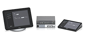 Extron and Logitech Combine AV Control with Powerful One-Touch Collaboration