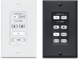 Extron Introduces New Decorator-Style, Soft Touch MediaLink® Controllers
