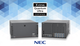 Extron and NEC Display Solutions
