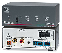 Extron MPA 152 ENERGY STAR Qualified Amplifier