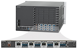 Extron Now Shipping Four-Channel DTP Output Card for Quantum Ultra with Selectable DTP / XTP / HDBaseT Output Modes