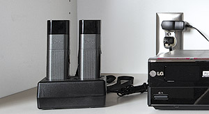 VoiceLift Microphone works in concert with the PoleVault System amplifier and speakers
