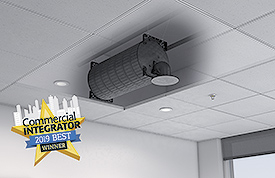 Extron In-Ceiling Subwoofer Wins Commercial Integrator BEST Award for Installed Loudspeakers and Subwoofers