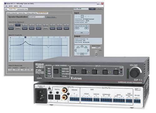 Verwonderend A Surround Sound Processor for Pro AV Integration   Extron HP-52
