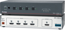 Extron Introduces Two and Four Input HDMI Switchers
