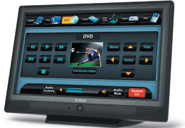 Extron Now Shipping 10-inch TLP 1000 TouchLink™ Touchpanels