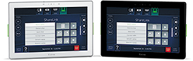 "New Stylish 10"" Wall Mount Touchpanel with Gorilla Glass"