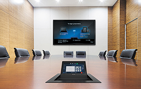 "New Easy-to-Install 7"" Touchpanel Blends Powerful AV Control with A Cable Cubby"