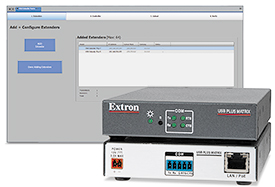 Extron Adds USB Matrix Switching Controller to USB Extender Plus Series