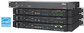 Extron XTRA™ Series Power Amplifiers
