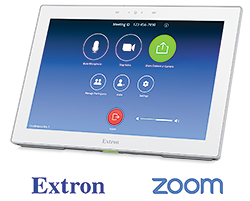 Extron Now Shipping HC 404 Collaboration System with Zoom Room Control