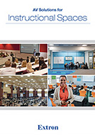 AV Solutions for Instructional Spaces