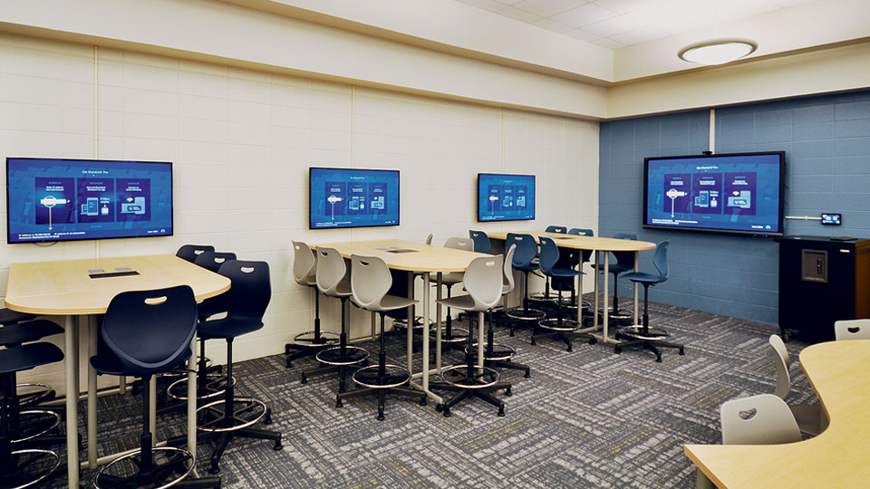 Huddle Rooms & Collaboration Spaces