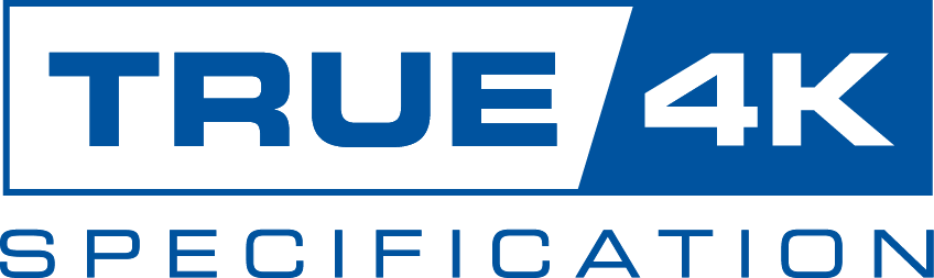True 4K Specification  logo