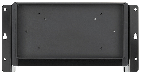 Optional Cable Cubby 1252 MS Lid Tray Kit accommodates wood, natural stone, or other material, provided by the installation carpenter, to match the surface of the furniture