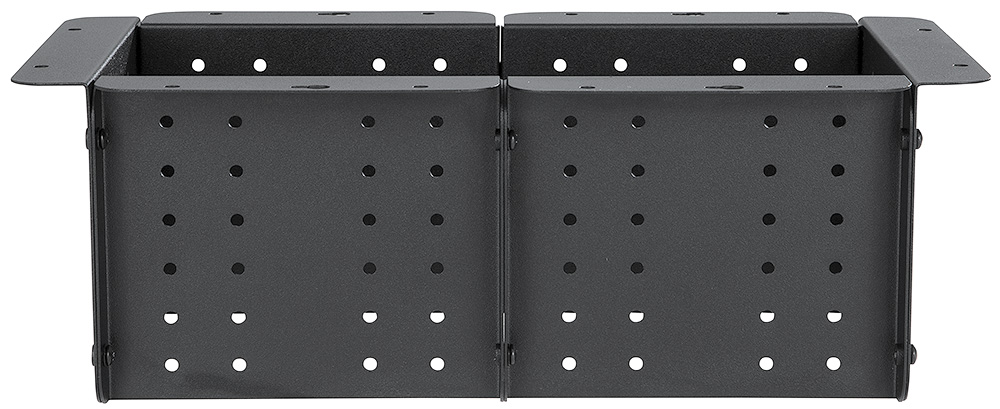 Two Cable Cubby 650 UT enclosures ganged together