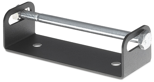 Retractor Horizontal Mounting Bracket 70-678-00 supports up to three Retractor modules mounted horizontally