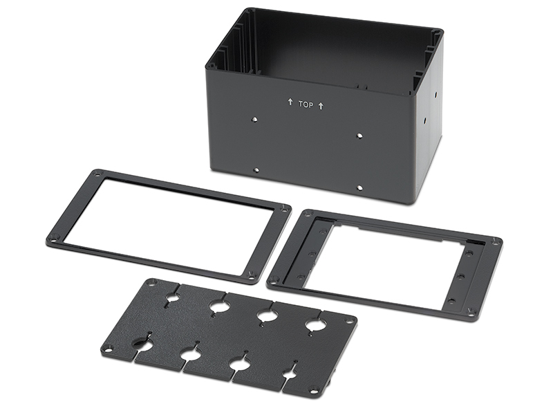 Cable/AAP Bracket Kit fits Cable Cubby 500/700/1200/1400 enclosures, supports up to eight AV cables or three AAPs