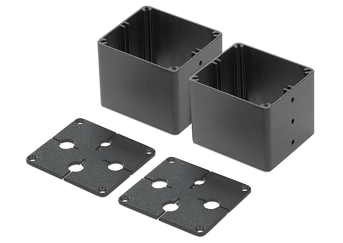 Cable Cubby Bracket Kit - Quad for NBP 1200C enclosure supports up to four AV cables per side