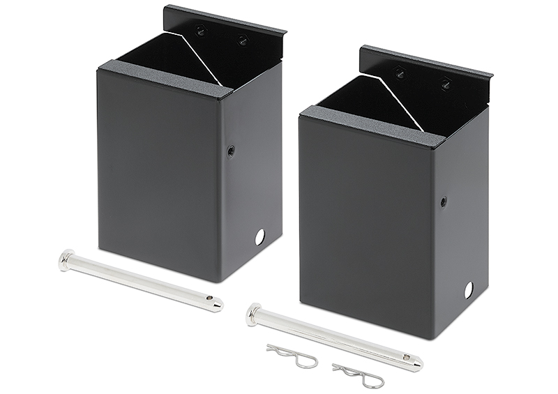 Cable Cubby Retractor Bracket Kit - Double for NBP 1200C supports up to four AV cables per side