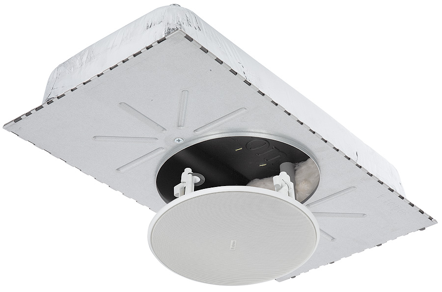 CS 120P Plenum Rated Enclosure and CS 3T Full-Range Open Back Ceiling Speaker