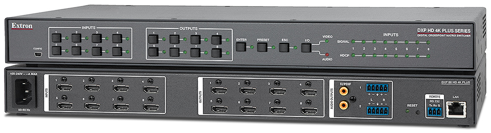 EXTRON DXP 88 HD 4K MATRIX SWITCHER DRIVERS DOWNLOAD (2019)
