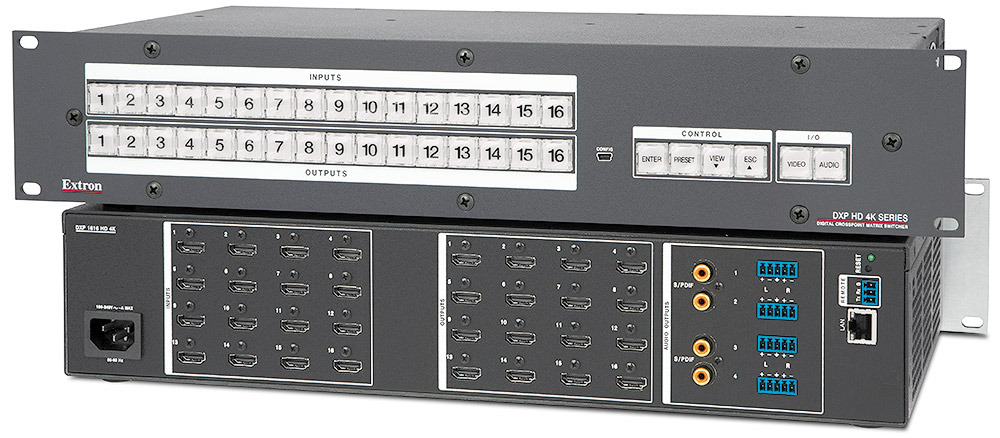 DXP HD 4K Series - Matrix Switchers | Extron
