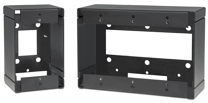 EWB Series available in one- to five-gang size and in a black or white finish