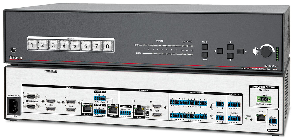 IN1608 xi - Scalers & Signal Processors | Extron