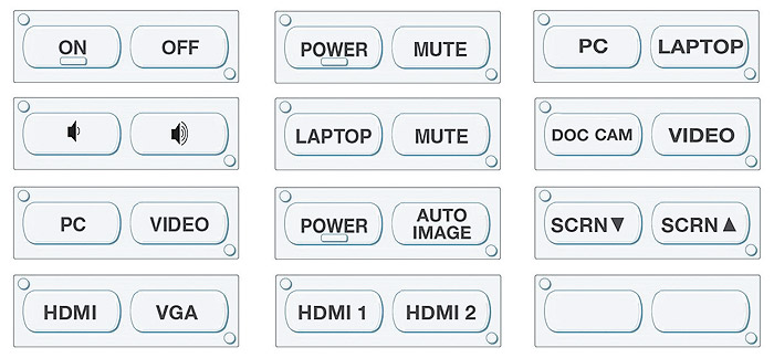 MLC 62 RS D Buttons