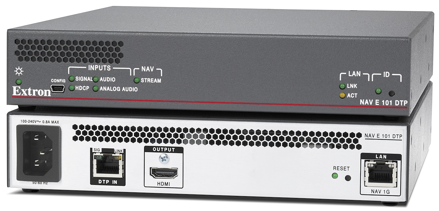 NAV E 101 DTP - 1G Pro AV over IP Encoder with DTP Input