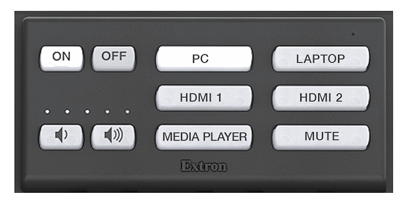 Button panel
