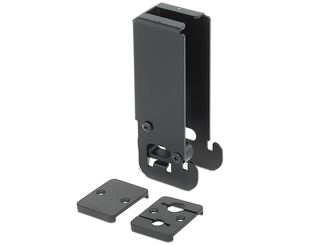Filler Module includes a Blank Cover Plate and Cable Pass-Through Plate that accommodates audio, network, or other cables
