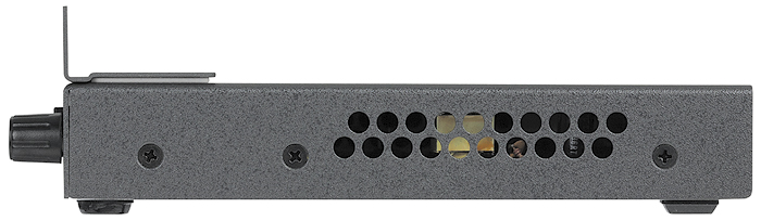 RFF 052 Shown installed in optional RGB-DVI 300 – side view