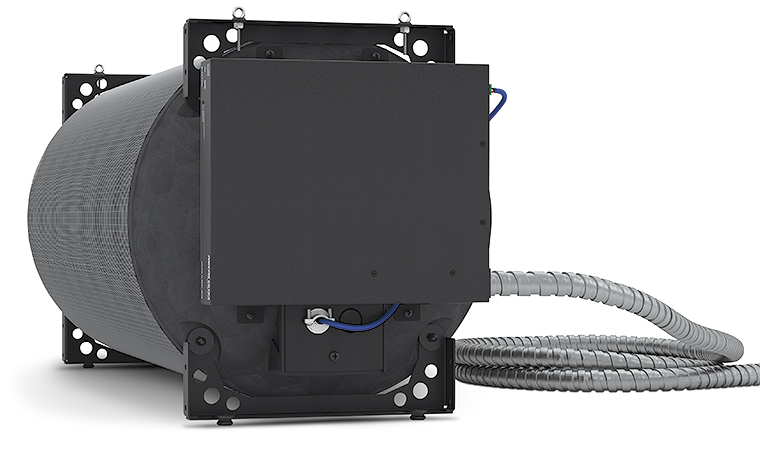 SF 10C SUB – Shown with Optional NetPA U 8001 SUB with Flexible Conduit Adapter Kit Attached